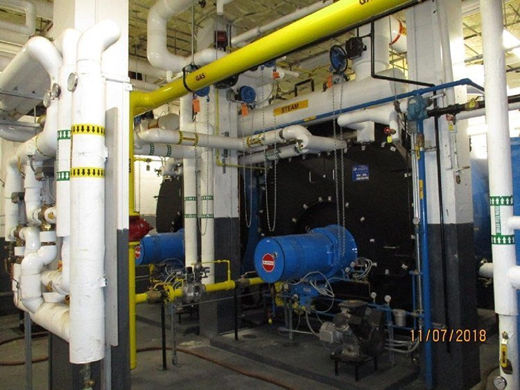 System Upgrade - AFTER- turnkey boiler systems