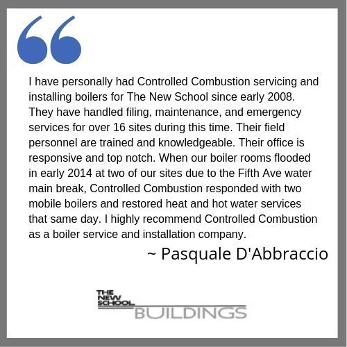 testimonial - controlled combustion